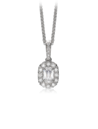 L'Amour Crisscut® Diamond Necklace
