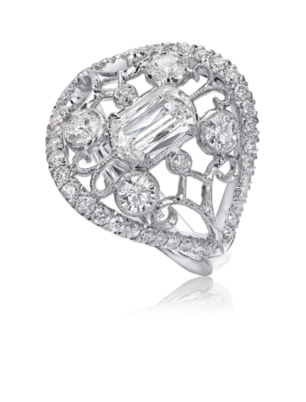 L'Amour Crisscut® Diamond Anniversary Ring