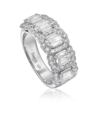 L'Amour Crisscut® Diamond Band