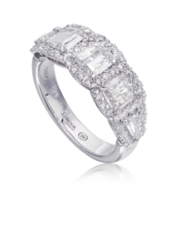 L'Amour Crisscut® Anniversary Diamond Band