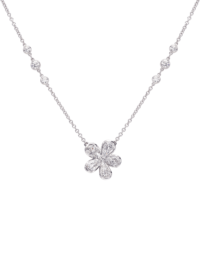 L'Amour Crisscut® Pear Diamond Pendant