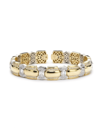 Christopher Designs Diamond Memory Cuff Bracelet