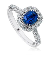 Christopher Designs Sapphire Fashion Ring