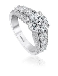 Engagement Ring Setting by Christopher Designs