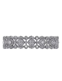 Christopher Designs Crisscut Diamond Bracelet