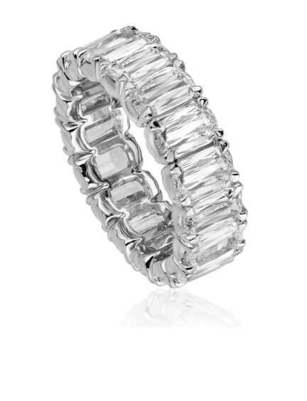 Christopher Designs L'Amour Crisscut Diamond Eternity Band