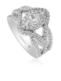 Christopher Designs Marquee Cut Diamond Ring
