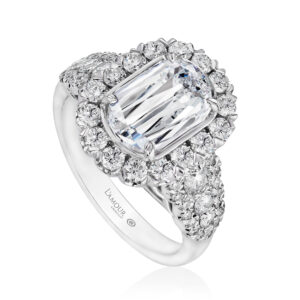 How to buy an engagement ring guide including different engagement ring styles.