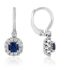 Christopher Designs Sapphire Earrings