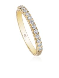 Christopher Designs round diamond band