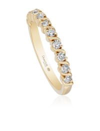 Christopher Designs Yellow Gold Diamond Band