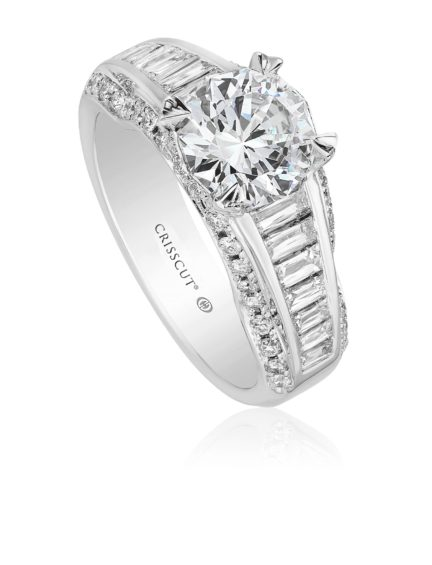 Christopher Designs Engagement Ring Setting