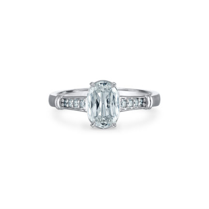 Christopher Designs solitaire engagement ring