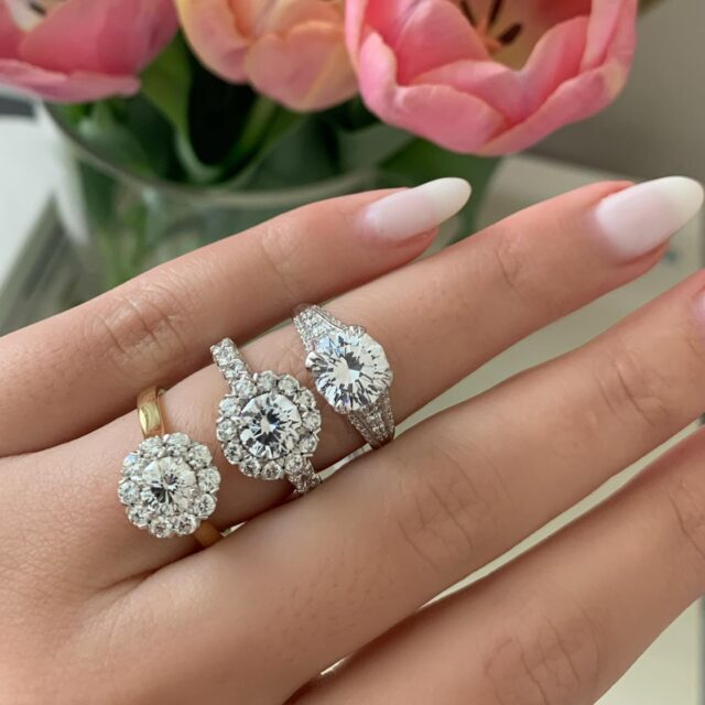 Engagement- any way you like it! Our signature engagement ring styles are available to be made with any center stone shape and size. #christopherdesigns #choosecrisscut #madeinnewyork